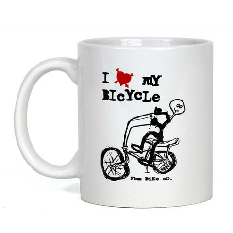FBM I Love My Bike Coffee Mug Bicycle