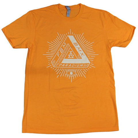 FBM Paradigm Shirt orange BMX tee