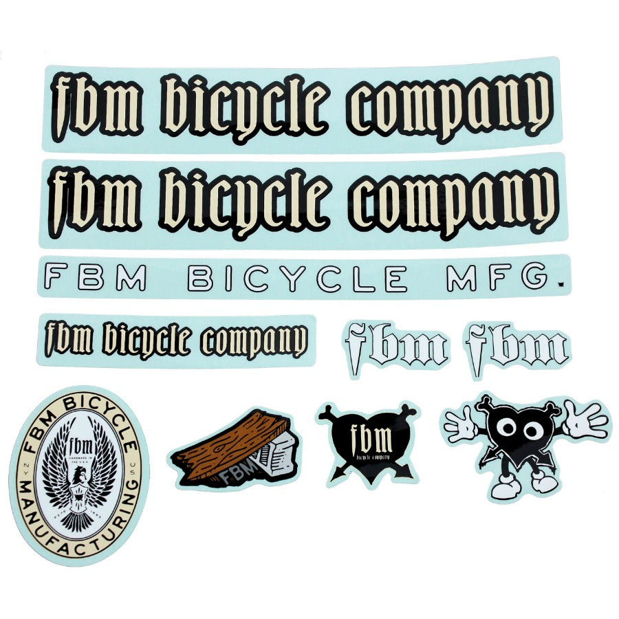 FBM Sticker Pack BMX Stickers