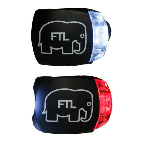 FTL Bike Lights black Elephant