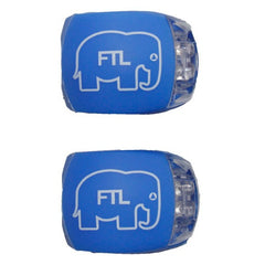 FTL Bike Lights blue Elephant