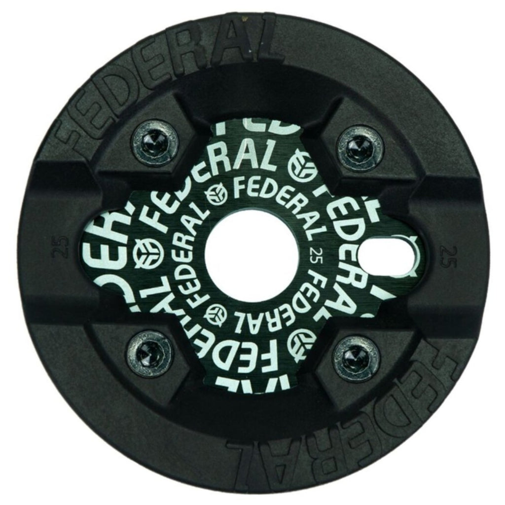 Federal Logo Solid Sprocket with Impact Guard BMX Sprockets