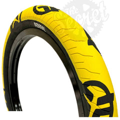 Federal Command LP Tire yellow black stencil logo