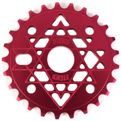 Fiend JJ Palmere Sprocket matte red BMX