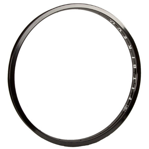 "Fit ARC 22"" Rim black BMX"