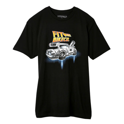 Fit VX Time Machine Tee BMX Shirt back to the future