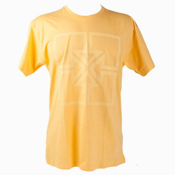 Fit Big Key Shirt yellow BMX Tee squash