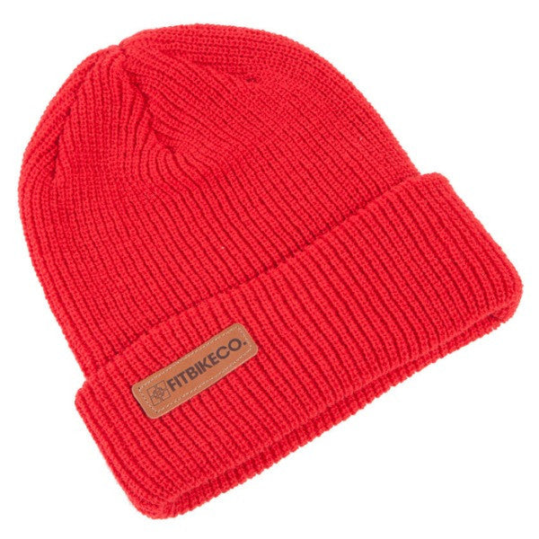 Fit Branded Beanie red