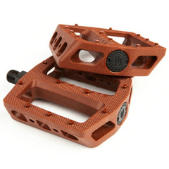 Fit Mac Pedals step down brown BMX Pedal