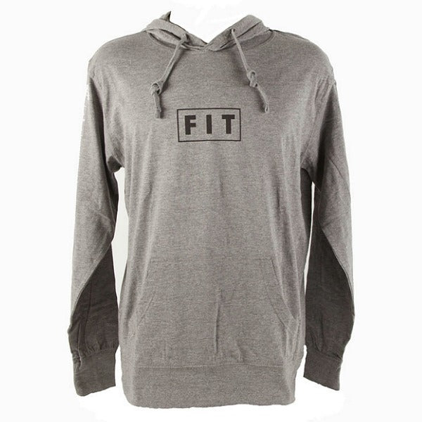 Fit Lightweight Pullover Hoodie gray grey