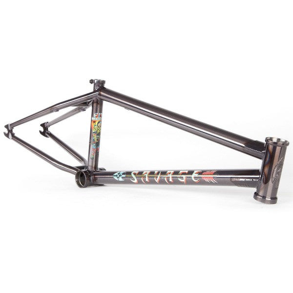 Fit Savage Justin Spriet Frame BMX trans smoke black
