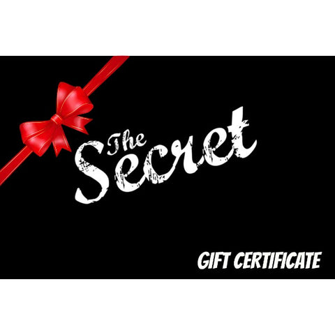 The Secret BMX Shop Gift Card Gift Certificate