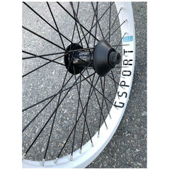 Gsport Elite Front Wheel white BMX Rim Rims