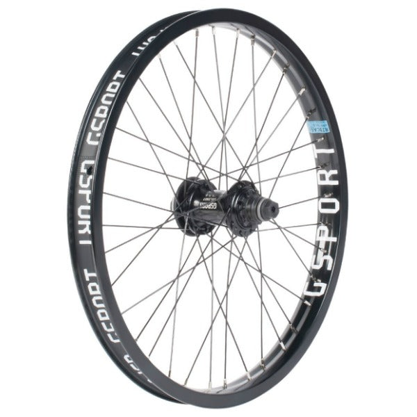 Gsport Elite Cassette Wheel black BMX