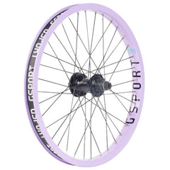 Gsport Elite Cassette Wheel lavender BMX