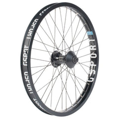GSport Elite Front Wheel black BMX