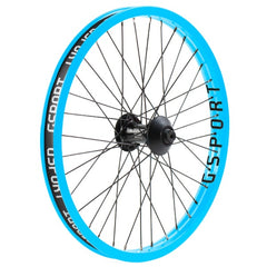 Gsport Elite V2 Front Wheel cyan blue