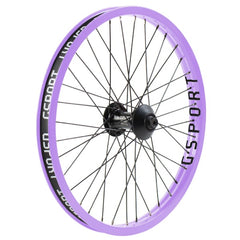 Gsport Elite V2 Front Wheel lavender BMX