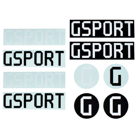 Gsport Sticker Pack BMX Stickers
