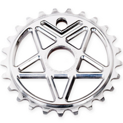 Eighties Bike Co. Pentagram Sprocket polished BMX