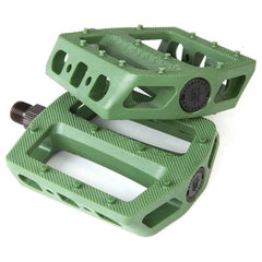 Fit Mac Pedals green BMX