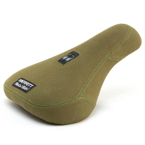 Merritt Brandon Pivotal Seat military green BMX Seats