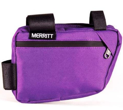 Merritt Corner Pocket Frame Bag purple BMX Bags