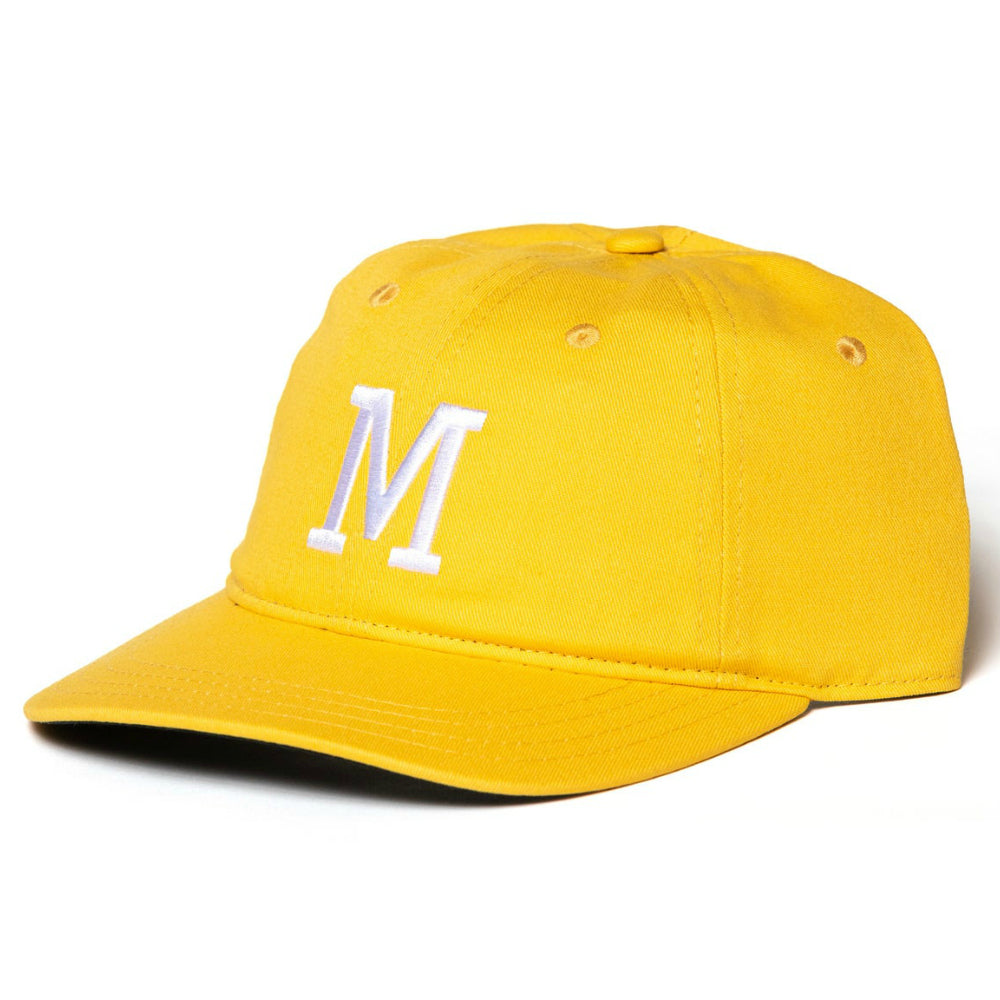 Merritt Monogram Hat yellow gold BMX Hats