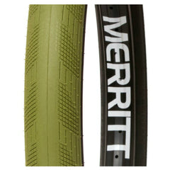 Merritt Phantom Tire military green army BMX Tires Brandon Begin