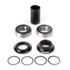 Merritt Mid Bottom Bracket Kit black BMX Bearings