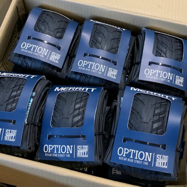 Merritt Option Tire Kevlar Folding BMX