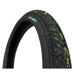 Merritt Option Tire splatter BMX