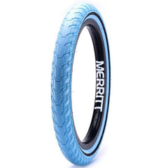 Merritt Option Tires tar heel blue BMX Tire
