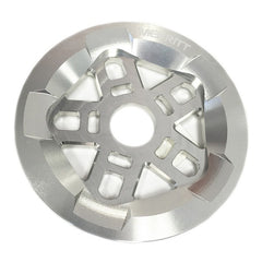 Merritt Pentaguard Sprocket polished silver Brandon Begin