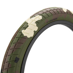 Mission Tracker Tire Woodland Camo BMX Tires