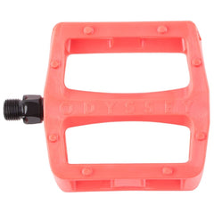Odyssey Grandstand V2 PC Pedals bright red BMX plastic pedal