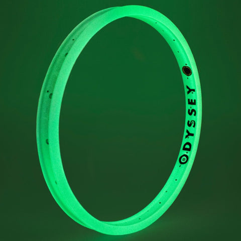 Odyssey Hazard Lite Rim glow in the dark white BMX Rims