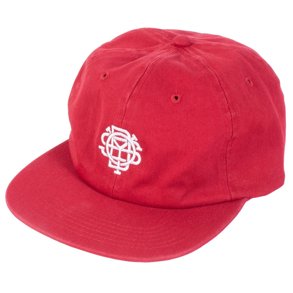 Odyssey Monogram Unstructured Hat cardinal red BMX Hats Cap