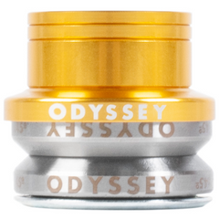 Odyssey Pro Integrated Headset gold BMX Headsets