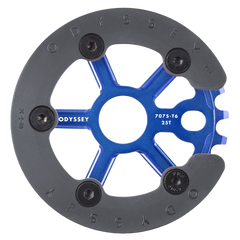 Odyssey Utility Pro Sprocket anodized blue BMX Guard Sprockets