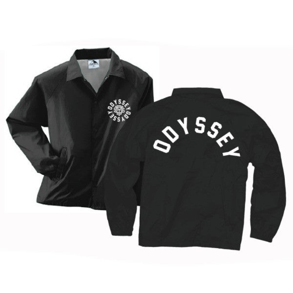 Odyssey Central Coaches Jacket black Windbreaker