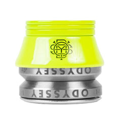 Odyssey Conical Headset fluorescent flo yellow BMX