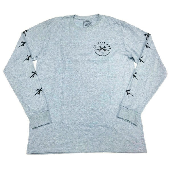 Odyssey Echo Long Sleeve Shirt grey BMX