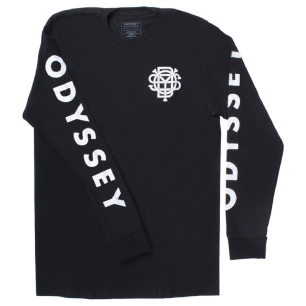 Odyssey Futura Long Sleeve Shirt black BMX