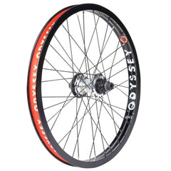 Odyssey Hazard Lite Clutch Freecoaster Wheel sliver polished black