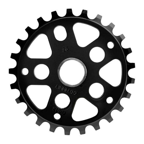 Odyssey C-512 Sprocket black Chase Hawk