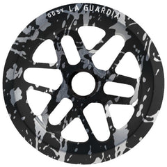 Odyssey La Guardia Sprocket black silver splatter BMX
