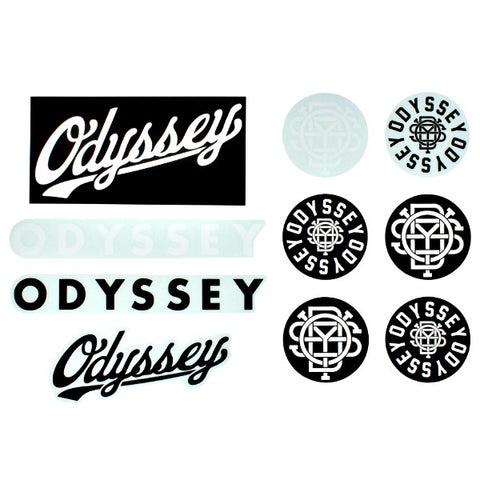 Odyssey Sticker Pack BMX Stickers