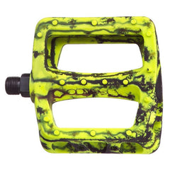 Odyssey Twisted PC Pedals yellow black tie dye