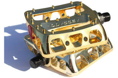 Odyssey Twisted PC Pedals gold